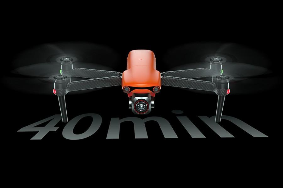 Autel Evo Lite + tiene autonomía de vuelo de 40 minutos.