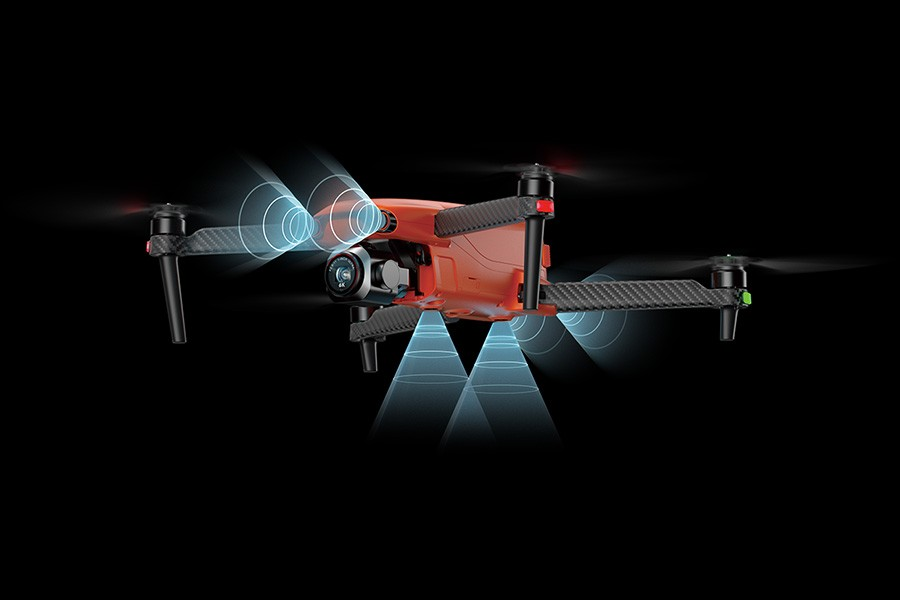 Sensores de detección de obstáculos del EVO Lite